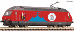 Fleischmann 731501 Scale: 1:160, N SBB Re460 058-1 Circus Knie Electric Locomotive VI